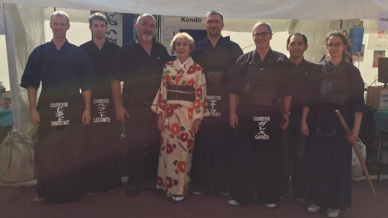 Candidature de Makiko Takei aux Trophées Sportifs 2018 de la Ville de Courbevoie