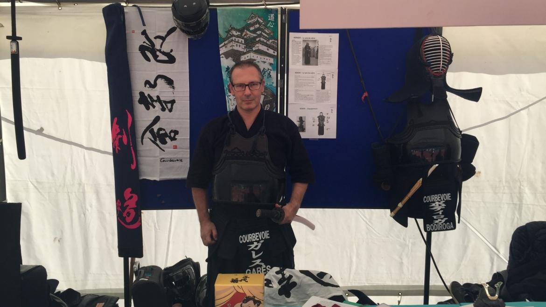 Sébastien Garès inscrit  à la formation d'obtention du professorat de Kendo (2018/2019)